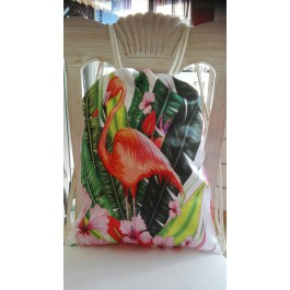 "Back bag ""Flamingo"""