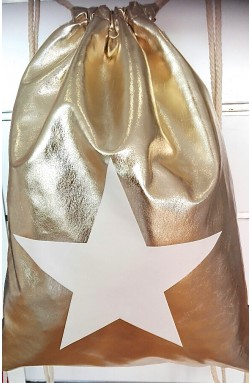 "Back bag ""Metallic-star"""