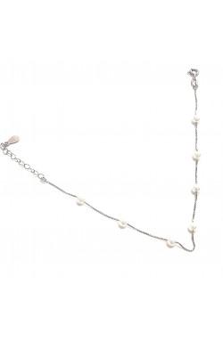 "Silberarmband ""Super-Fine-pearl"""