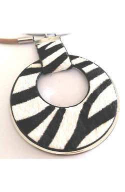 "Kette ""Zebra"""