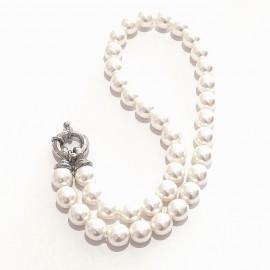 Mallorca Perlenkette mit Federverschluß