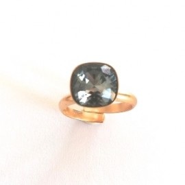 "Ring ""Black diamond"""