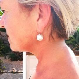 Mallorca Perlenohrring, 16mm