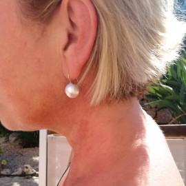 Mallorca Perlenohrring, 14mm