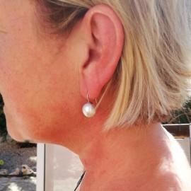 Mallorca Perlenohrring, 12mm