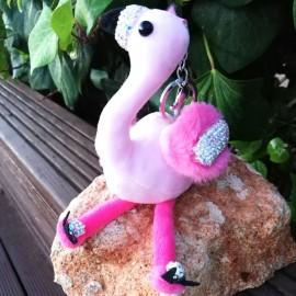 """Schlüsselanhänger """"Flamingo"""""""