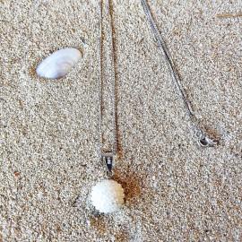 """Silberkette """"Micro-Perla"""""""