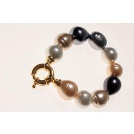"Majorca pearl bracelet ""Summerlight"""