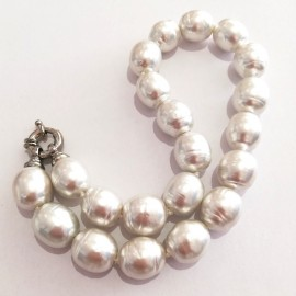 Pearl necklace with Mallorca Barocca pearls