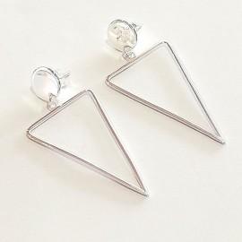 """Silberohrring """"Triangel"""""""