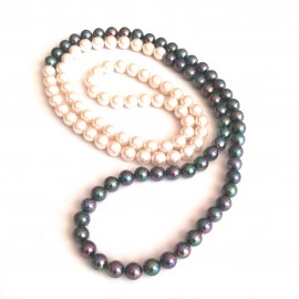 "Mallorca Perlenkette ""Bicolor"""