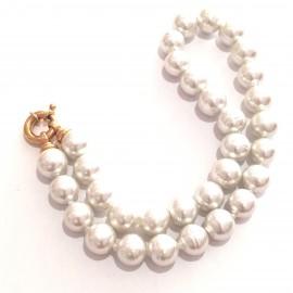 """Mallorca Perlenkette """"Barocca-small""""-vg"""