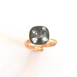 "Ring ""Black diamond"""