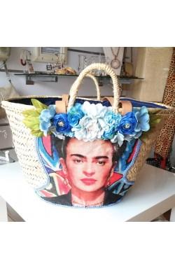 "Korb ""Frida-blue"""