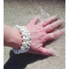 """Muschelkernarmband """"Pearl"""""""