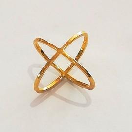 """X-Ring """"Sara""""-gold"""