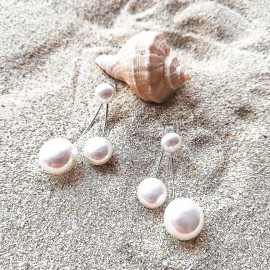 "Silberohrring ""Pearl"""