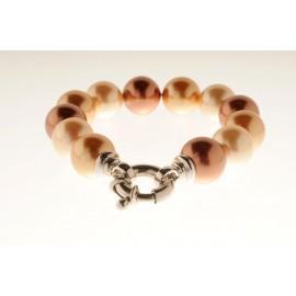 Pulsera de perlas con Reasa